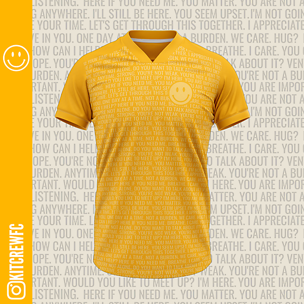 Mental Health Awareness Shirt (with colour change)
