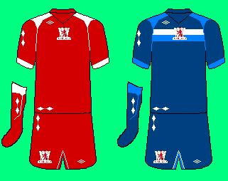 Umbro Midddlesborough Kits