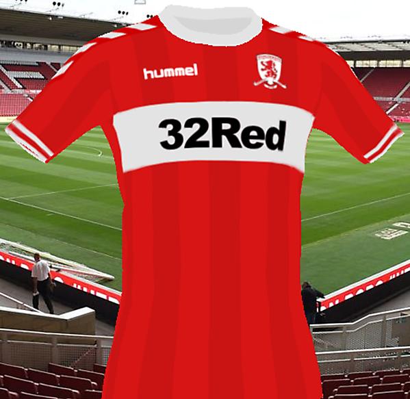 Middlesbrough Hummel Kit 18/19