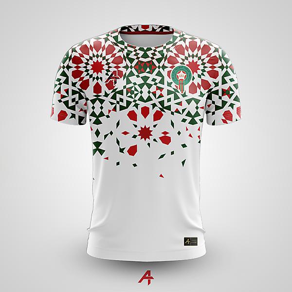 Morocco away kit concept