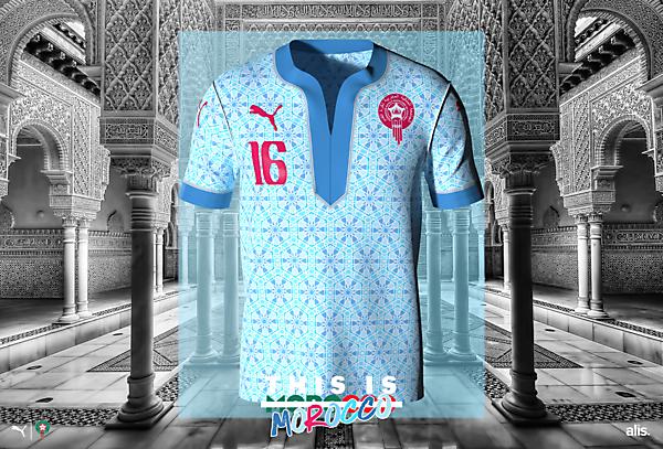 Morocco X Puma - Away