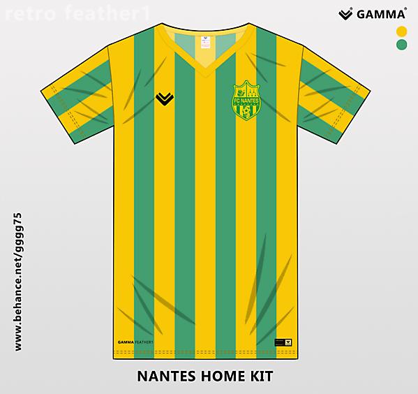 nantes home kit