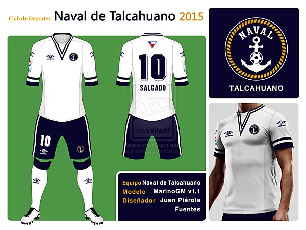 Naval de Talcahuano New Badge Kit