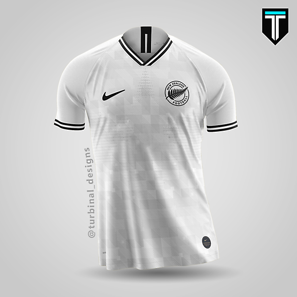 New Zealand x Nike - Home Kit Concept
