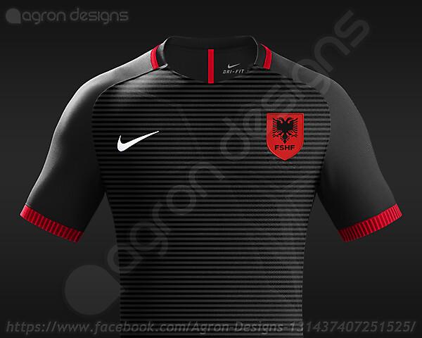 Nike Albania NT Third Kit Concept