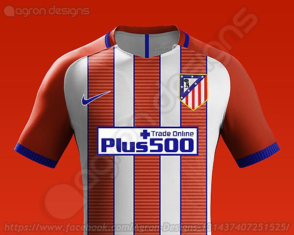 Nike Atlético Madrid 2016-17 Home Kit Concept
