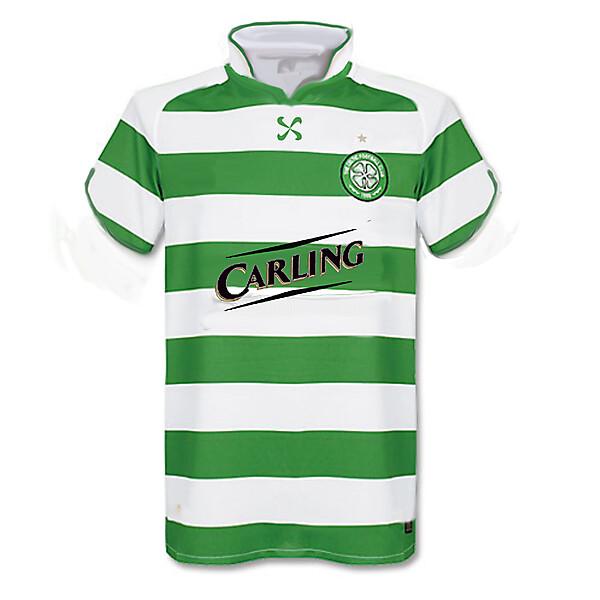 Celtic Nike Flower Home Shirt 2