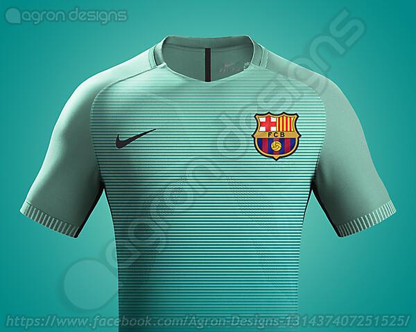 Nike Fc Barcelona 2016-17 Third Kit Possible