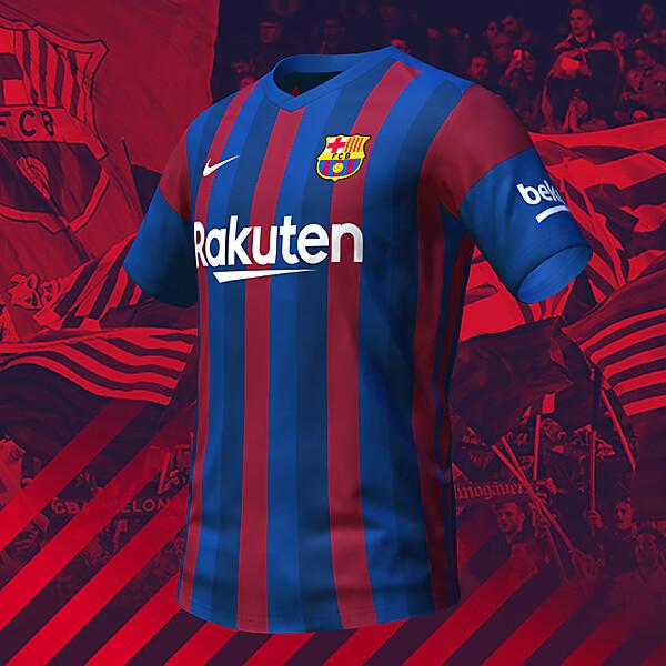 nike FC Barcelona Home Shirt Concept