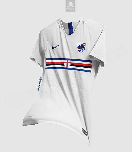 Nike Sampdoria Away Kit Concept