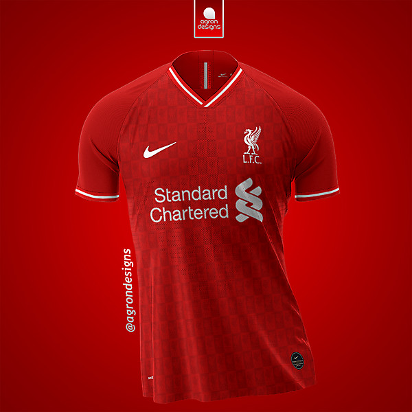 NIKE X LIVERPOOL FC HOME KIT CONCEPT