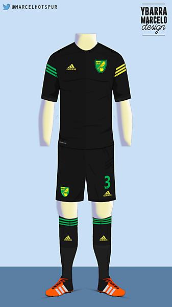 Norwich City - Away kit - Adidas