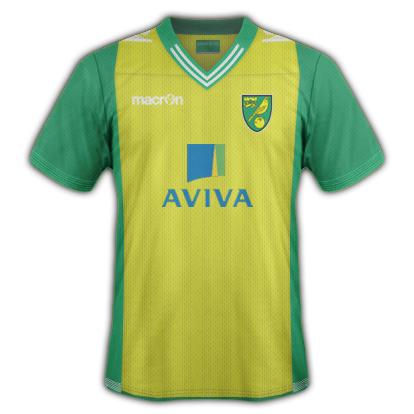 Norwich City fantasy Home kit by VSync32