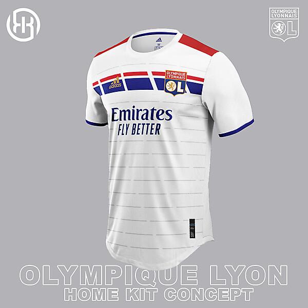 Olympique Lyon | Home kit concept