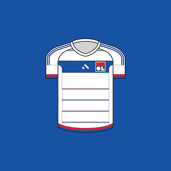 Olympique Lyonnais - Home / Minimalist