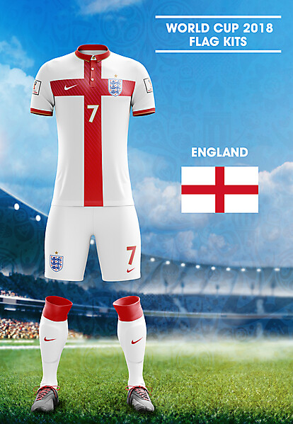 orld Cup Flag Kit: ENG