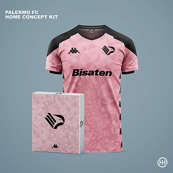 Palermo FC   Home kit concept