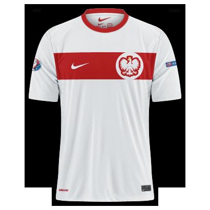Poland - Euro 2016 Fantasy Home Shirt