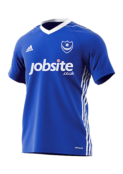 Portsmouth FC Home Adidas Kit