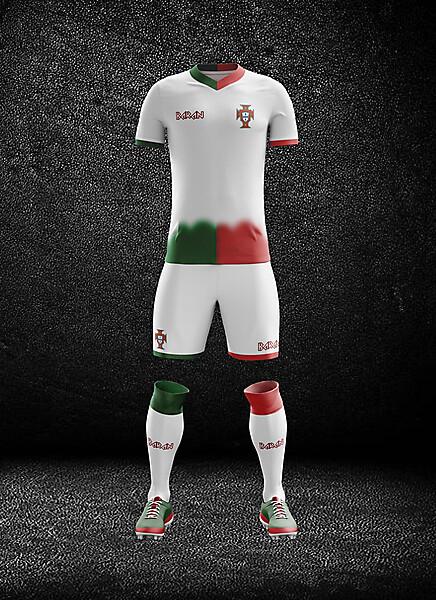 Portugal x Away Kit Design