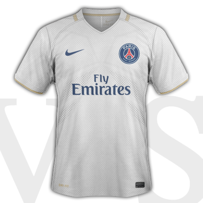 PSG Away shirt