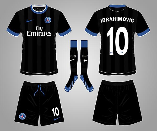 PSG black Kit