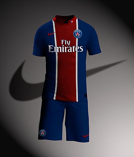 PSG Nike Kit Home