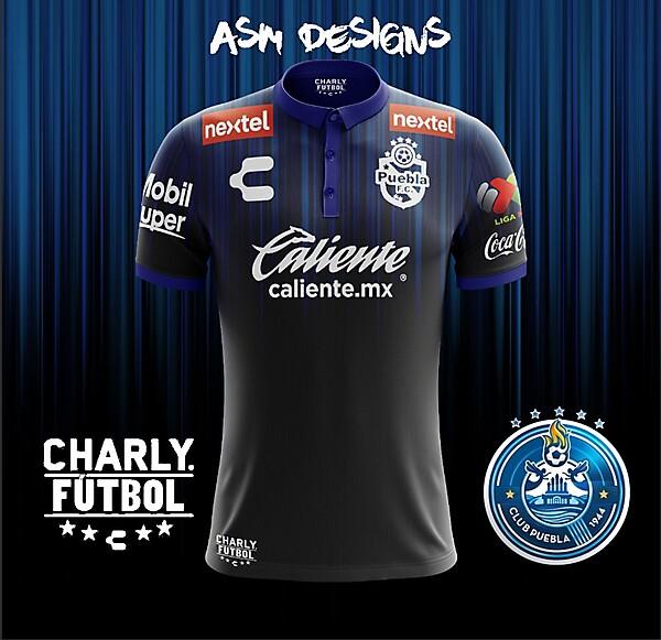 Puebla FC Charly 2018 Away Kit