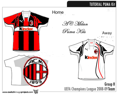 factory price 545dc a9a04 Ac Milan Puma Kits, Home and Away new sponsor!