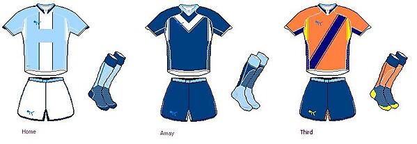 Puma Man city kits