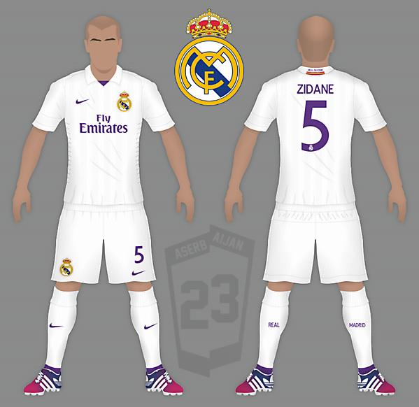 Real Madrid Nike Home