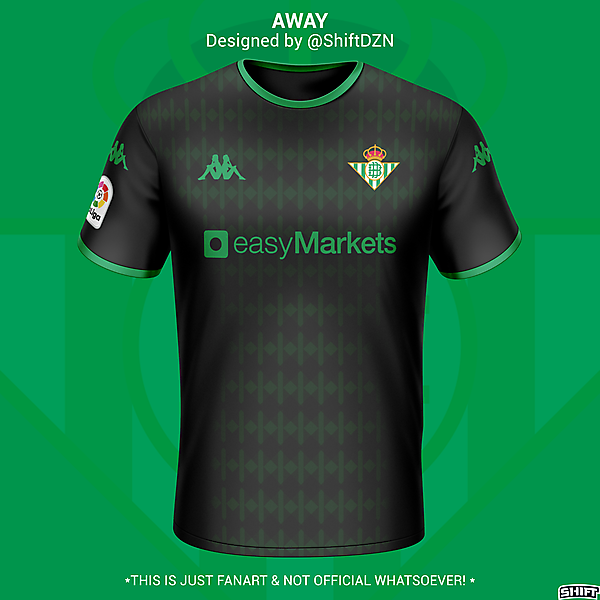 Real Betis Away Jersey Concept