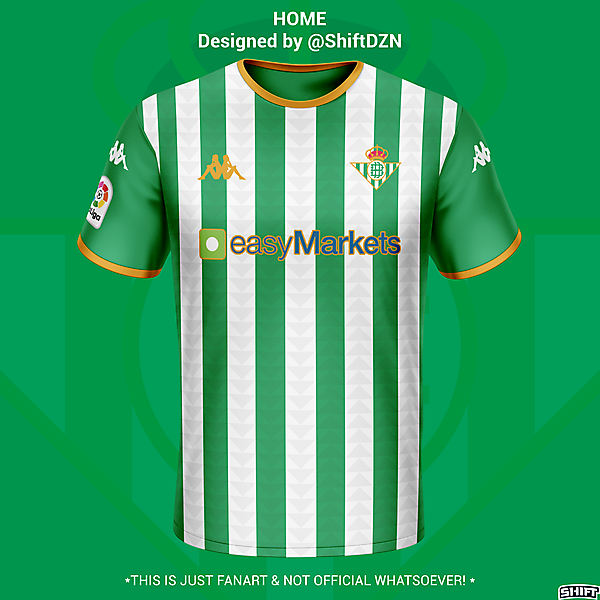 Real Betis Home Jersey Concept