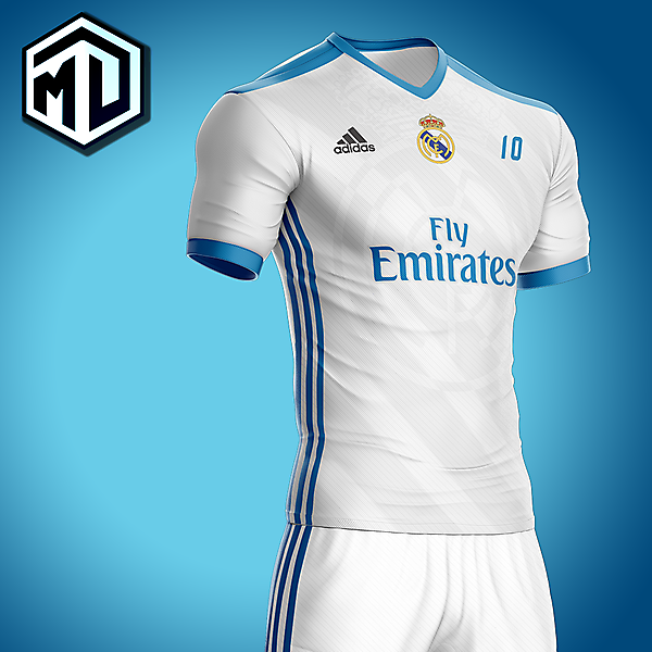 Real Madrid 1st jersey concept