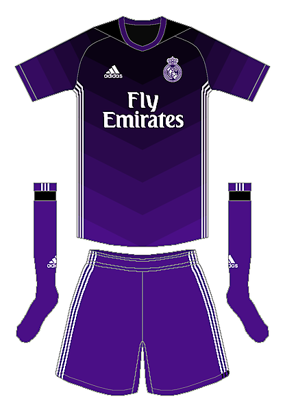 Real Madrid Adidas Away Kit