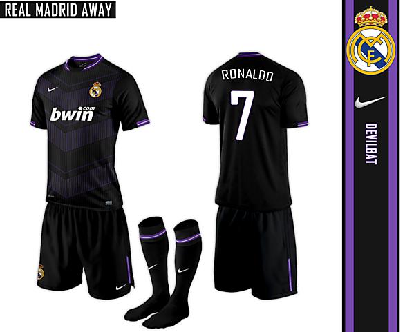 Real Madrid Away Nike