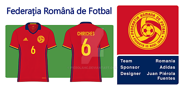 Romania New Badge Away