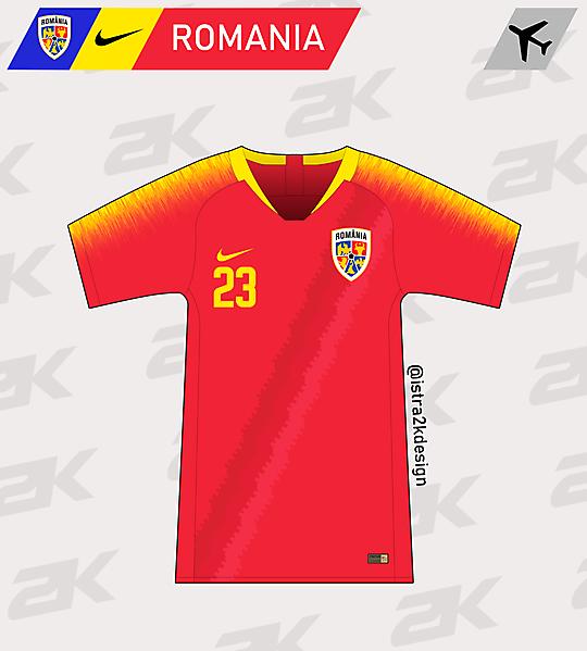 Romania x Nike - Away