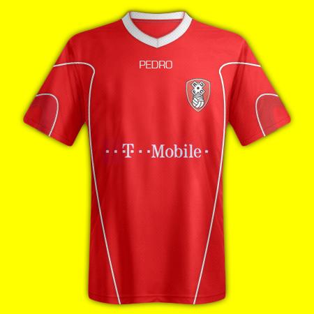 Rotherham United Pedro Home