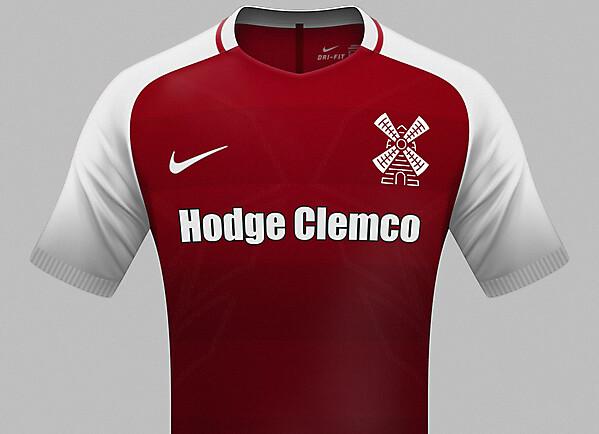 Rotherham United Nike home kit