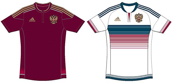 Russia 2015 Fantasy Kits