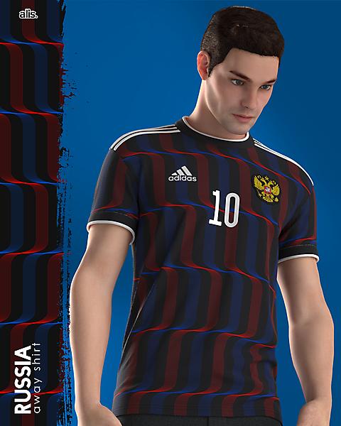 Russia X adidas - Away
