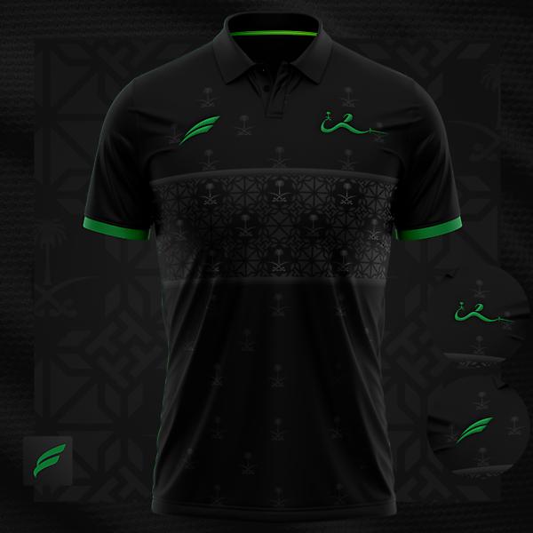 Saudi Fencing  | polo t-shirt