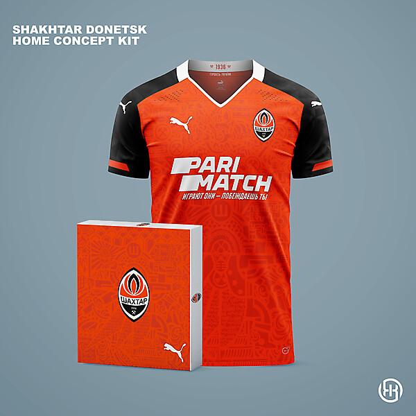 Shakhtar Donetsk | Home kit concept