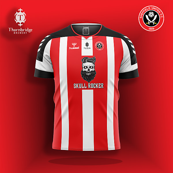 Sheffield United v Thornbridge Brewery sponsor concept