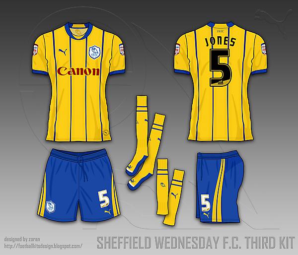 Sheffield Wednesday F.C. fantasy kits