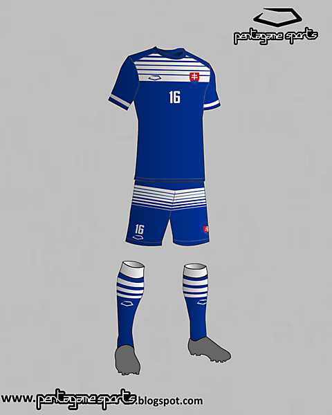 Slovakia national football team away kit 2016