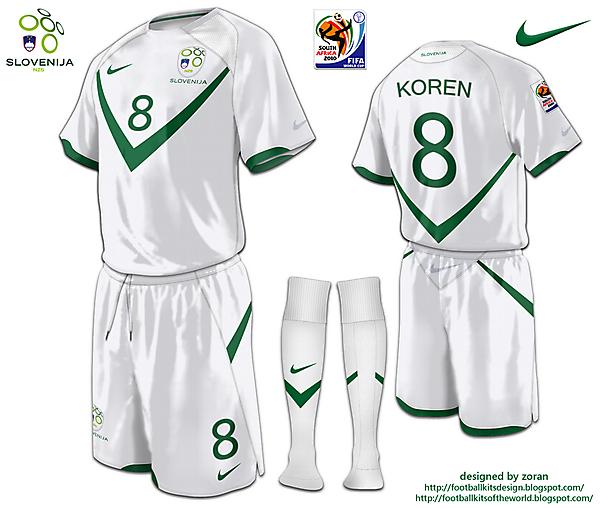 Slovenia World Cup 2010 fantasy home