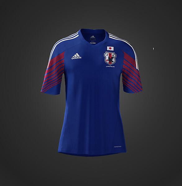 2014 Adidas Japan World Cup Home Kit