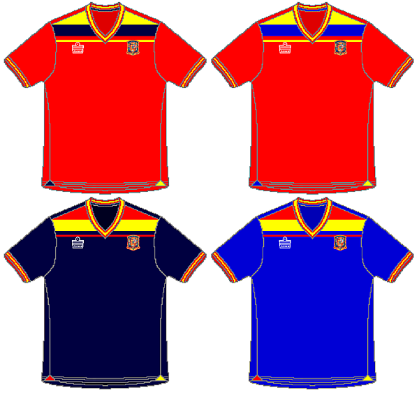 Spain Admiral Retro Kits